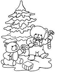 Christmas For Kids Christmas Coloring Pages For Kids Coloring The World