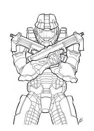 Small Picture Halo Coloring Pages and Book UniqueColoringPages Coloring