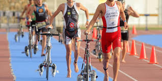 what is a brick workout and why do triathletes do them breaking muscle