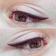 татуаж глаз с растушевкой фото до и после особенности нанесения