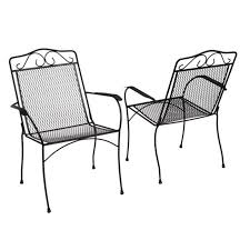 stackable metal patio furniture outdoor dining chairs bistro hampton bay 6990700 0205157 64 stackable metal chairs