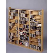 furniture charming modern design cd storage solution ideas