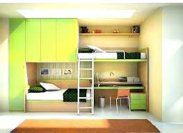 kids loft bed with desk. Kids Loft Bed With Desk Bunk Table Underneath .