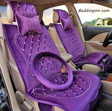 make the interior of your car easier to maintain girly car seat covers