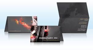 Folded Business Cards Vistaprint
