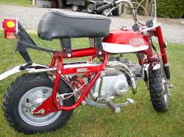 71 honda minitrail 50 pit bike vintage auto racing association