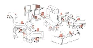 office furniture planning. Fine Planning Full AutoCAD U0026 Design Service In Office Furniture Planning