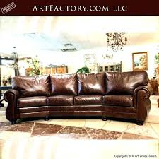 curved leather sofa curved leather sofa gorgeous sofas with full grain furniture custom made art small