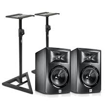 jbl 305 white. jbl lsr305 two way active studio monitors with free stands (pair). loading zoom jbl 305 white .