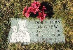 Doris Fern Mack McGrew (1940-2001) - Find A Grave Memorial