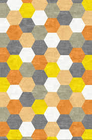 pretentious hexagon area rugs inspiration home goods blue in
