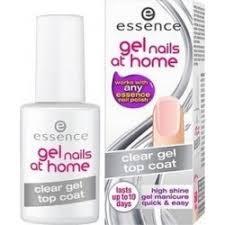 Essence Krycí Gelový Lak čirý Gel Nails At Home Clear Gel Top Coat 7