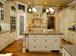 vintage kitchen cabinets and island