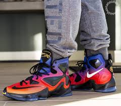 lebron 13. a rare look at the doernbecher lebron 13 out in wild