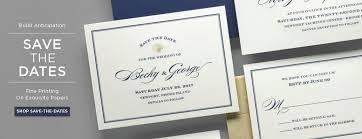Print Save The Date Cards Unique Invitations Announcements By Fai Print