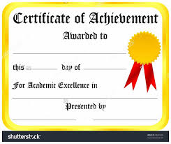Sample Certificate Of Achievement Free Sample Certificate Of Achievement Copy Certificate Achievement 4