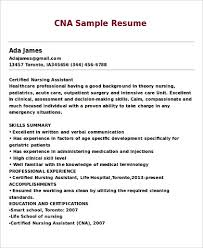 ... Sample Of A Cna Resume Best Of Nurse assistant Cna Resume Example Cna  Resume Sample Creating ...