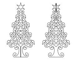 christmas tree 3d dxf file