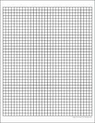 Graph Paper 10 By 10 10 X 10 Graph Paper Square Paper Template