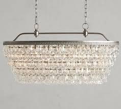 clarissa crystal drop oval chandelier