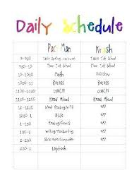 Daily Scheduler Template Mesmerizing Daily Schedule Template Free Delectable Daily Scheduler Template