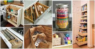 Kitchen Storage 18 Amazing Diy Storage Ideas For Perfect Kitchen Organization 47