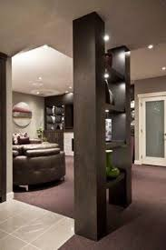 Column design ideas entry contemporary with recessed lighting recessed  lighting glass wall