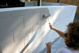 how to paint cinder block