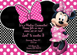Minnie Mouse Blank Invitation Template Printable Minnie Mouse Invitation Plus Free Blank Matching Printable