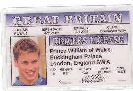 Online Low London Family Fake Drivers Amazon Novelty William Prices I India - At in In d Wales License Identification For Fans The Prince Of Buy Royal