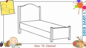 bed drawing easy. Fine Bed How To Draw A Bed EASY Step By For  3 Months Ago With Bed Drawing Easy N