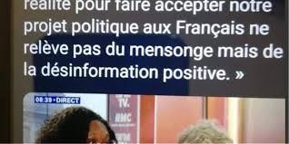 Sibeth Ndiaye Na Pas Vanté Les Vertus De La Désinformation Positive