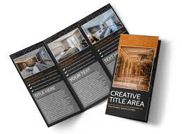Best Brochure Templates Only The Best Hotels Tri Fold Brochure Template