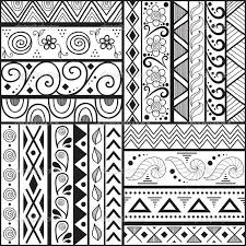 Pattern Ideas Extraordinary 48 Collection Of Easy Drawing Patterns Ideas High Quality Free