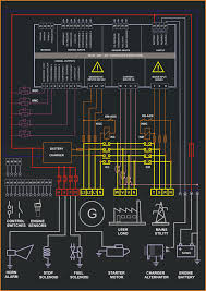 control panel circuit diagram genset controller control panel circuit diagram