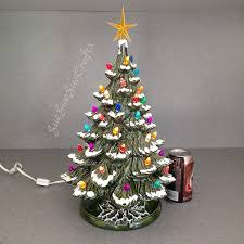 Old Fashioned Tree Lights Amazon Com Ceramic Christmas Tree Tabletop Traditional Old