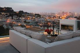 roof deck furniture. Roof Deck Furniture Impressive In Contemporary With Fabric Ideas Next To Alongside Parapet Rooftop D