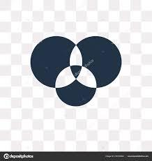 Transparent Venn Diagram Background Venn Diagram No Venn Diagram Vector Icon