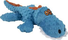 og gators chew guard dog toy blue