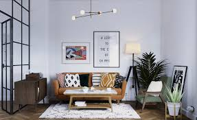 Eclectic Design Source Earthy Eclectic Scandinavian Style Interior