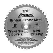 carbide tipped saw blades. milwaukee tools 8\ carbide tipped saw blades