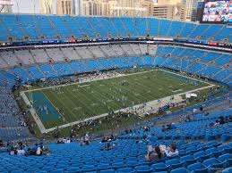 Carolina Panthers Seating Chart With Rows Bank Of America Stadium Section 547 Rateyourseats Com