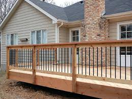 wood deck railing ideas. Stand Off Wooden Deck Railing Google Search Ideas Lowes . Wood
