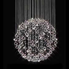 chandelier modern crystal chandelier modern chandeliers for dining room hanging fall orb with bubble crystal
