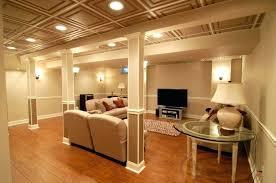 unfinished basement lighting ideas. Unfinished Basement Ceiling Fabric Ideas  Medium Size Of Lighting . C