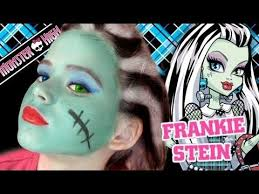 remade stardoll makeup tutorial monster high frankie stein