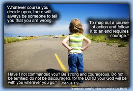 Christian Quotes On Courage Best of Courage Through Criticism Quotes To Make Us Think