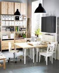 office in dining room. Dining Room Combined With A Home Office In