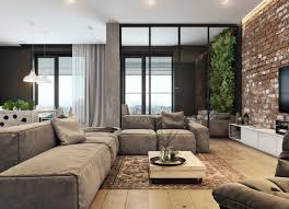 Modern House Living Room Design 5 Houses That Put A Modern Twist On Exposed Brick