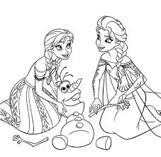 Coloriage Princesse Imprimer Disney Reine Des Neiges